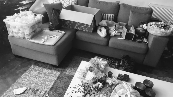 Een les in kerstversiering #ontspullen u2013 minimalist dutchie