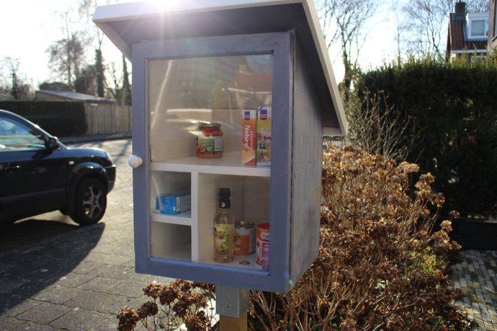 Mooi initiatief: Buurtkastjes / Little FreePantry's