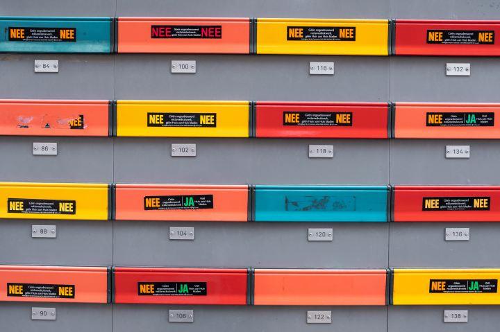Een brievenbus-post systeem |Organiseren